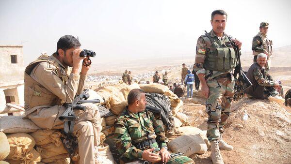 Los kurdos peshmerga - Sputnik Mundo