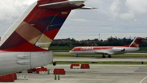 Un avión colombiano (archivo) - Sputnik Mundo