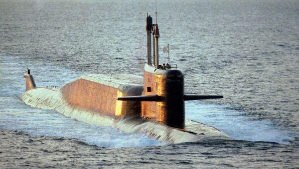 Submarino del proyecto 667BDRM (archivo) - Sputnik Mundo