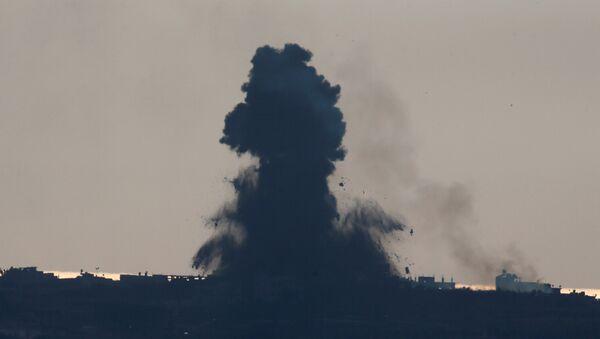 La situación en la Franja de Gaza (archivo) - Sputnik Mundo