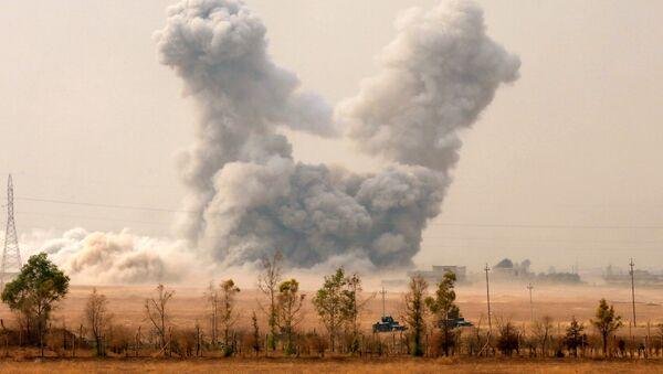 La situación en Mosul (archivo) - Sputnik Mundo