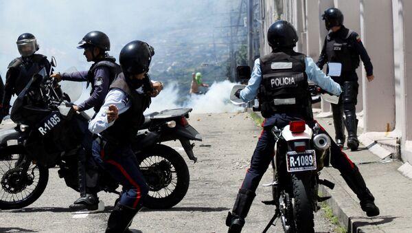 Disturbios en Venezuela - Sputnik Mundo