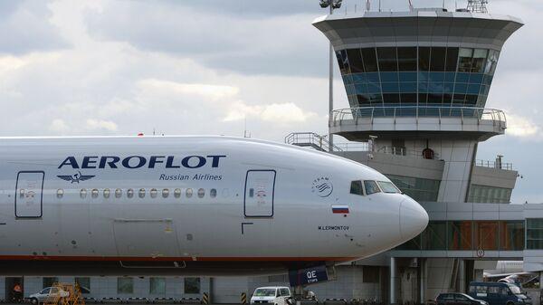 Un avión de la compañía rusa Aeroflot - Sputnik Mundo