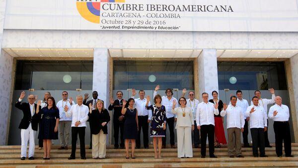Los delegados de la XXV Cumbre Iberoamericana de Jefes de Estado y de Gobierno - Sputnik Mundo