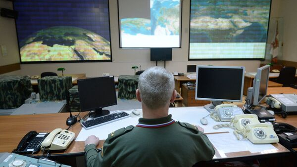 Combat duty officers at the command center of the Don-2-N radar - Sputnik Mundo