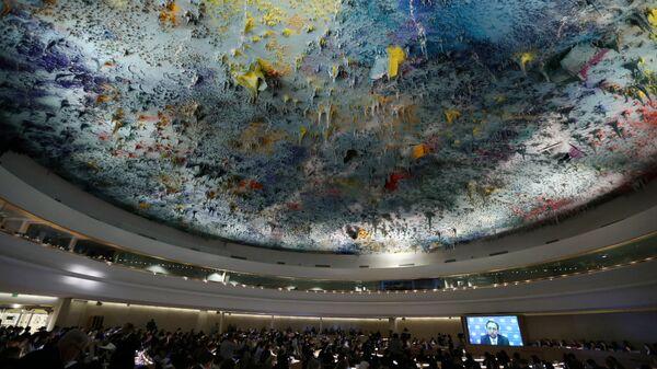 El Consejo de Derechos Humanos de la ONU (archivo) - Sputnik Mundo