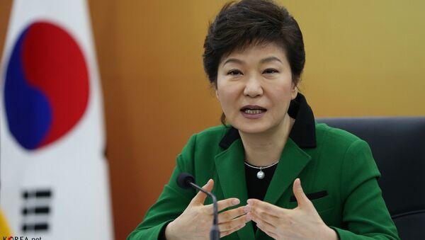Park Geun-hye, la presidenta de Corea del Sur - Sputnik Mundo