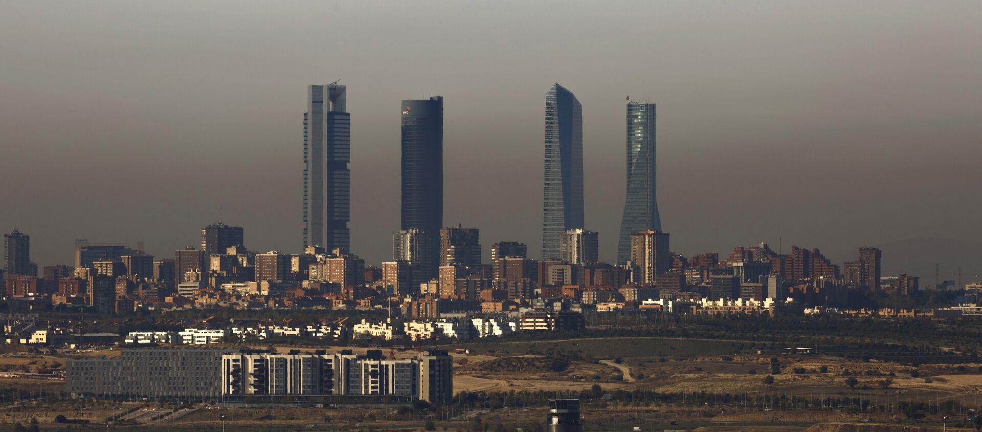 Contaminación en Madrid - Sputnik Mundo, 1920, 02.12.2016