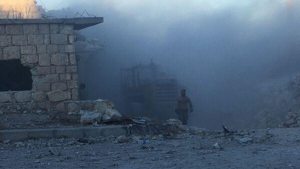 Ataques con morteros en Siria (Archivo) - Sputnik Mundo