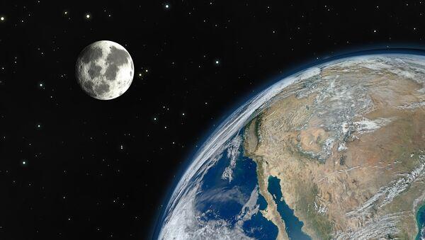 La Tierra y la Luna - Sputnik Mundo
