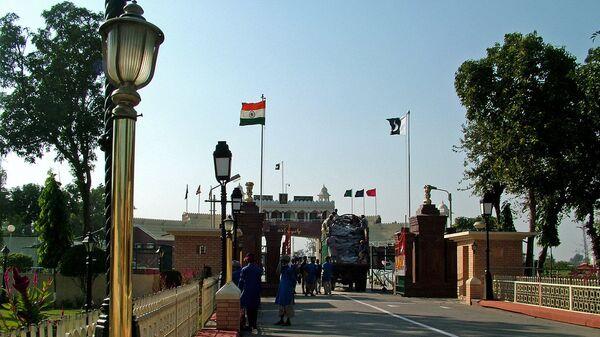 Frontera entre Pakistán y la India - Sputnik Mundo