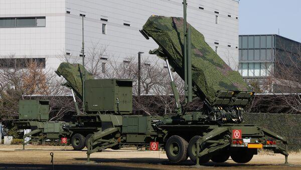 Los sistemas antimisiles japoneses de fabricación estadounidense, Patriot, desplegados en Tokio, el 31 de enero de 2016 - Sputnik Mundo