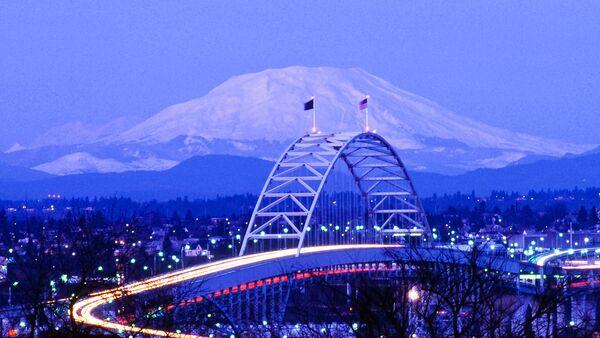El monte Santa Helena - Sputnik Mundo