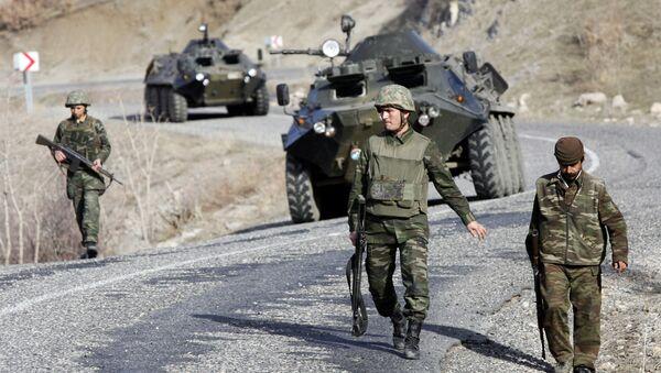 Las tropas turcas (archivo) - Sputnik Mundo