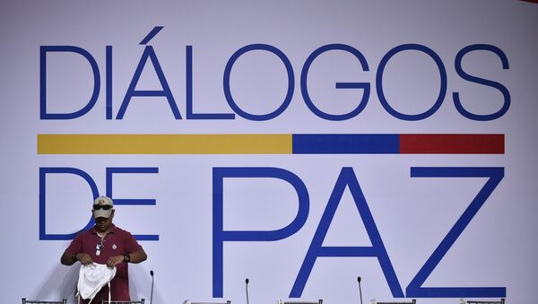 El proceso de paz entre el Gobierno colombiano y el ELN - Sputnik Mundo