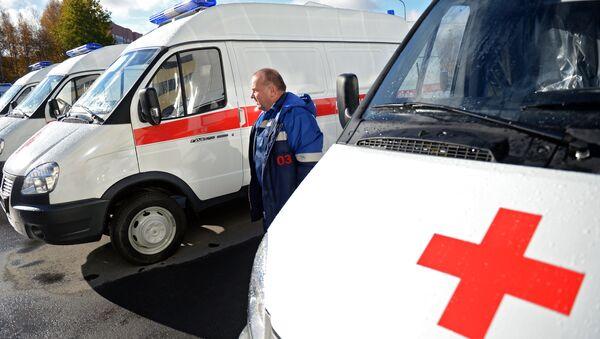 Ambulancia rusa - Sputnik Mundo