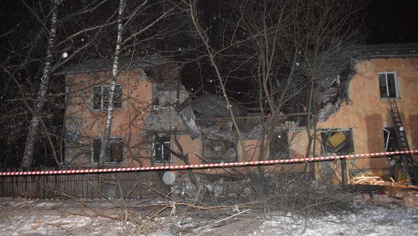 Explosión de gas en Ivánovo - Sputnik Mundo
