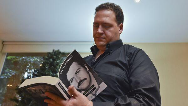 Juan Pablo Escobar, hijo del legendario capo de la droga, Pablo Escobar - Sputnik Mundo