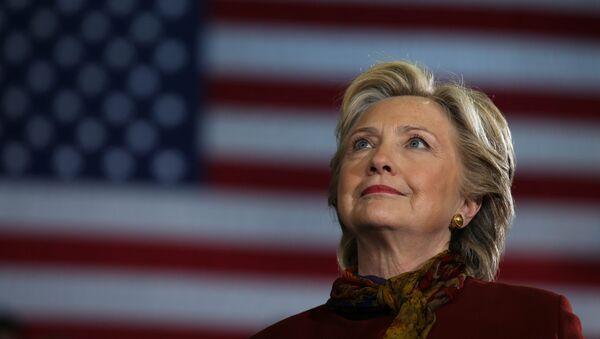 Hillary Clinton, candidata demócrata a la presidencia de EEUU - Sputnik Mundo