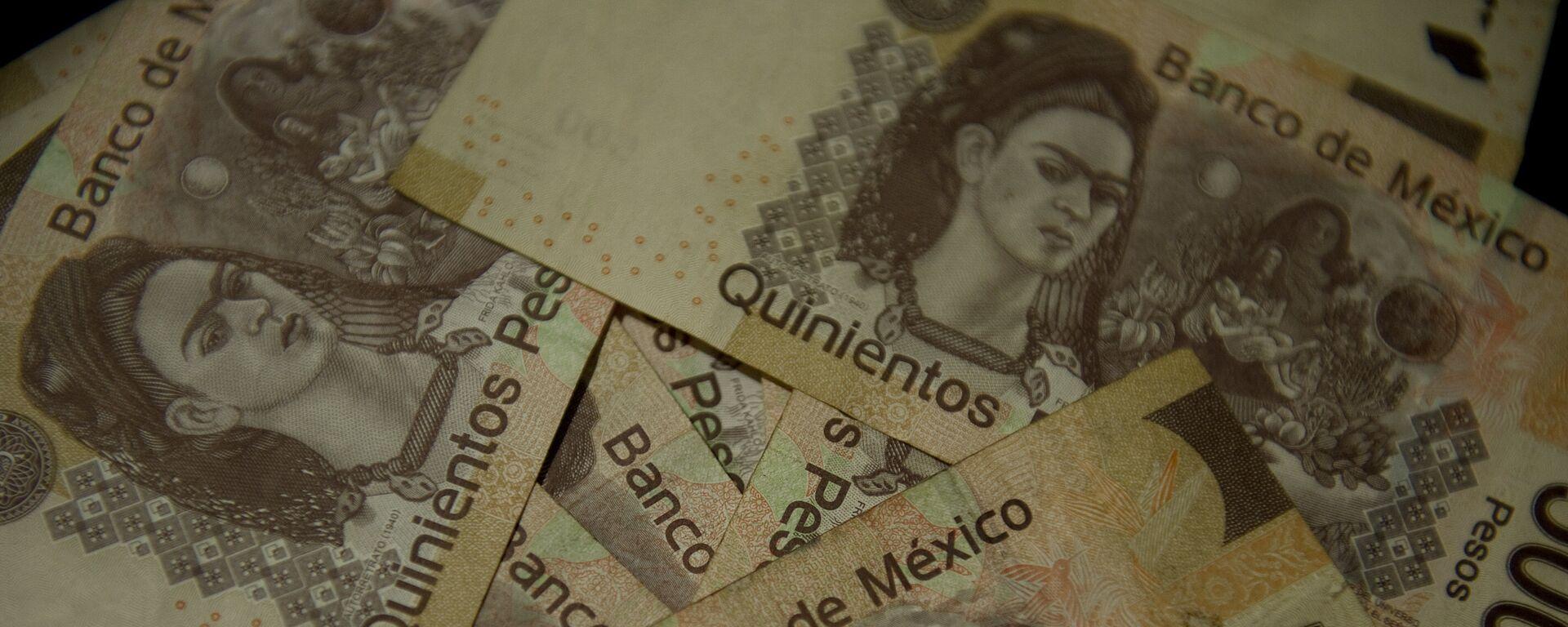 Pesos mexicanos (imagen referencial) - Sputnik Mundo, 1920, 09.11.2020