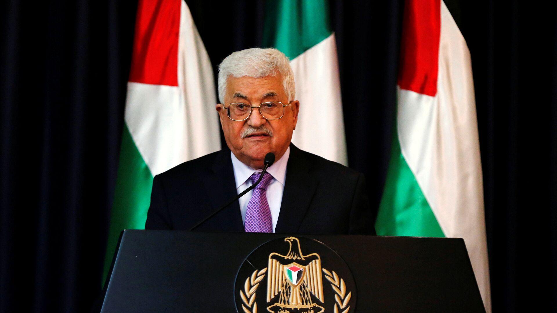 Mahmud Abás, presidente de Palestina - Sputnik Mundo, 1920, 22.09.2021