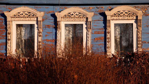 La arquitectura tradicional rusa, en peligro de extinción - Sputnik Mundo
