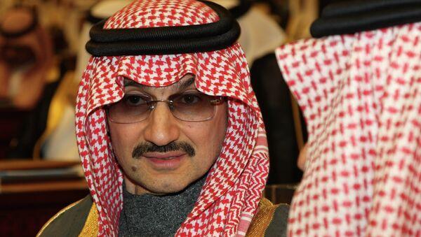 El príncipe de Arabia Saudí Al Walid bin Talal - Sputnik Mundo