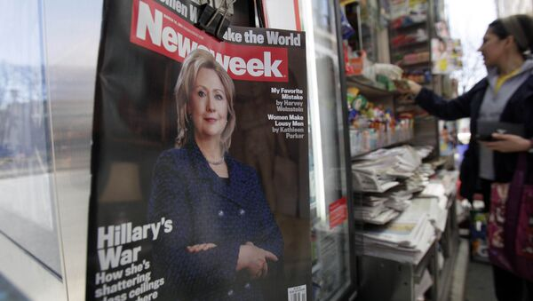 La revista Newsweek - Sputnik Mundo
