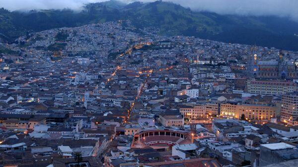 Quito, capital del Ecuador (archivo) - Sputnik Mundo
