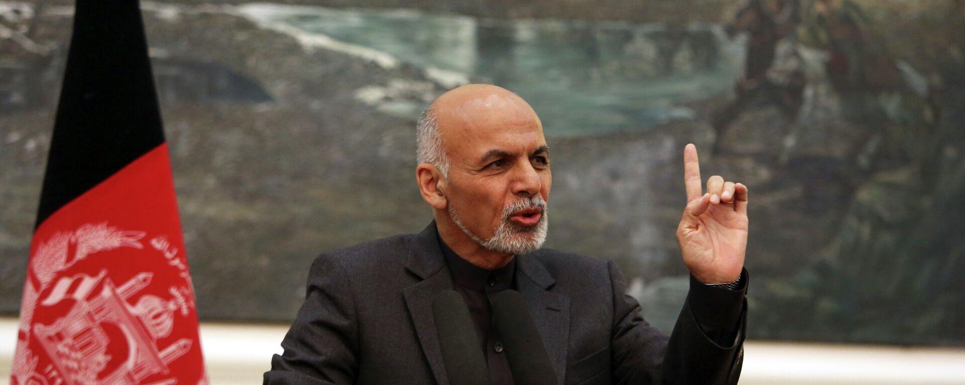 El expresidente afgano, Ashraf Ghani - Sputnik Mundo, 1920, 27.09.2021