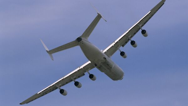 Un Antónov An-225, el avión más grande del mundo (archivo) - Sputnik Mundo