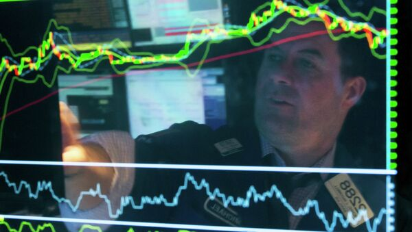Un gráfico financiero - Sputnik Mundo
