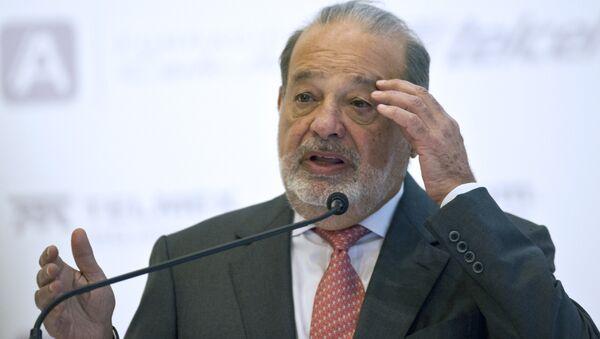 Multimillonario mexicano Carlos Slim - Sputnik Mundo
