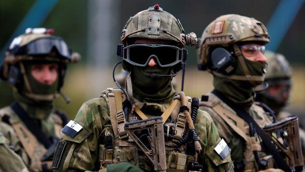 Soldados polacos - Sputnik Mundo