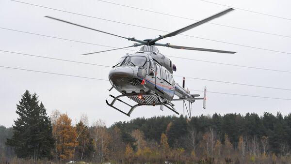 Un helicóptero Ansat - Sputnik Mundo