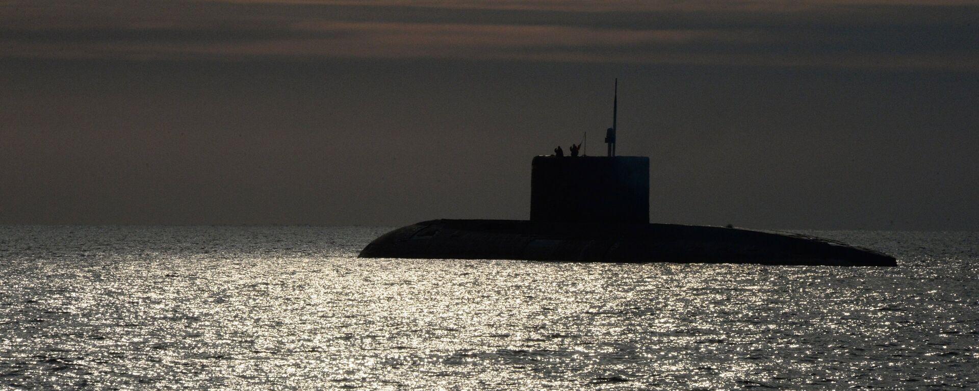 El submarino ruso de la clase Varshavianka - Sputnik Mundo, 1920, 15.02.2021