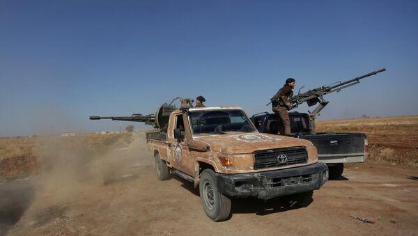 Rebeldes sirios - Sputnik Mundo