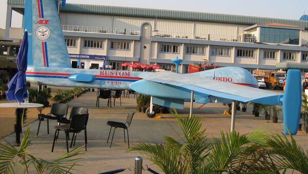 El dron indio de combate Rustom - Sputnik Mundo