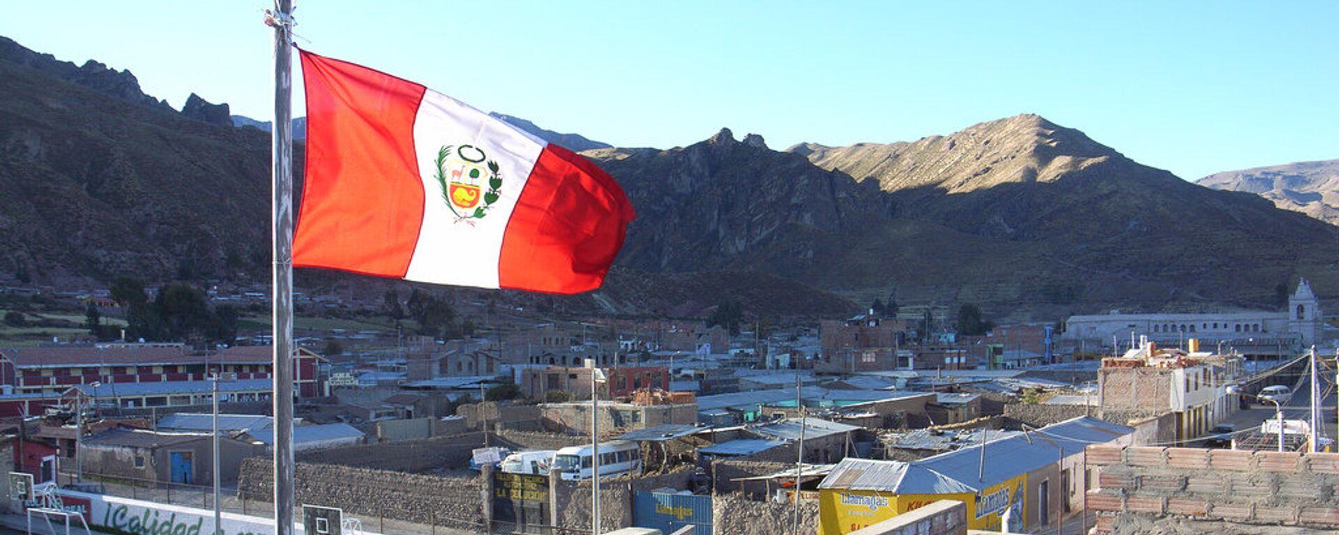 Bandera de Perú - Sputnik Mundo, 1920, 28.09.2021