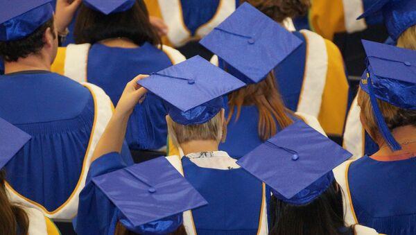 Graduados (imagen referencial) - Sputnik Mundo