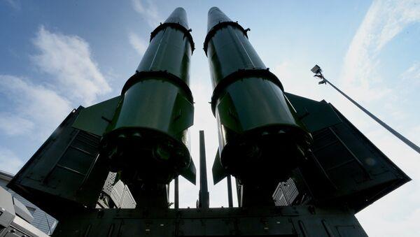 El sistema de misiles Iskander-M (imagen referencial) - Sputnik Mundo
