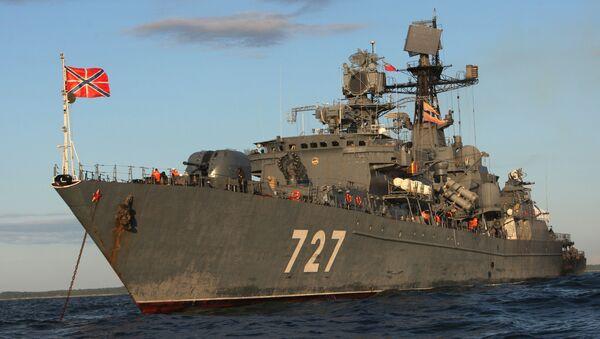 El buque patrullero Yaroslav Mudry (archivo) - Sputnik Mundo