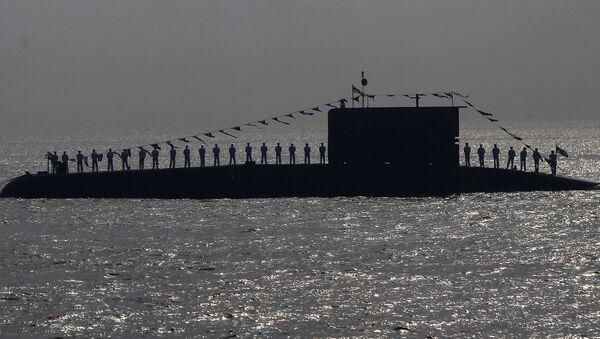 Un submarino de la Armada india (archivo) - Sputnik Mundo