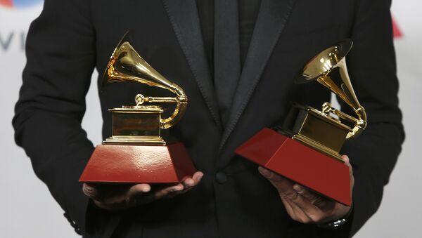Carlos Vives durante el XVII Grammy Latino en Las Vegas - Sputnik Mundo