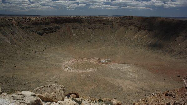 Un cráter - Sputnik Mundo