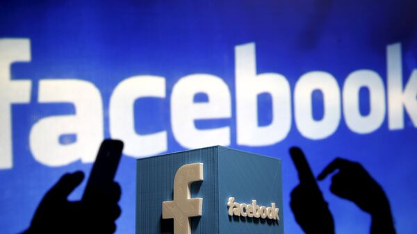 Logotipo de Facebook - Sputnik Mundo