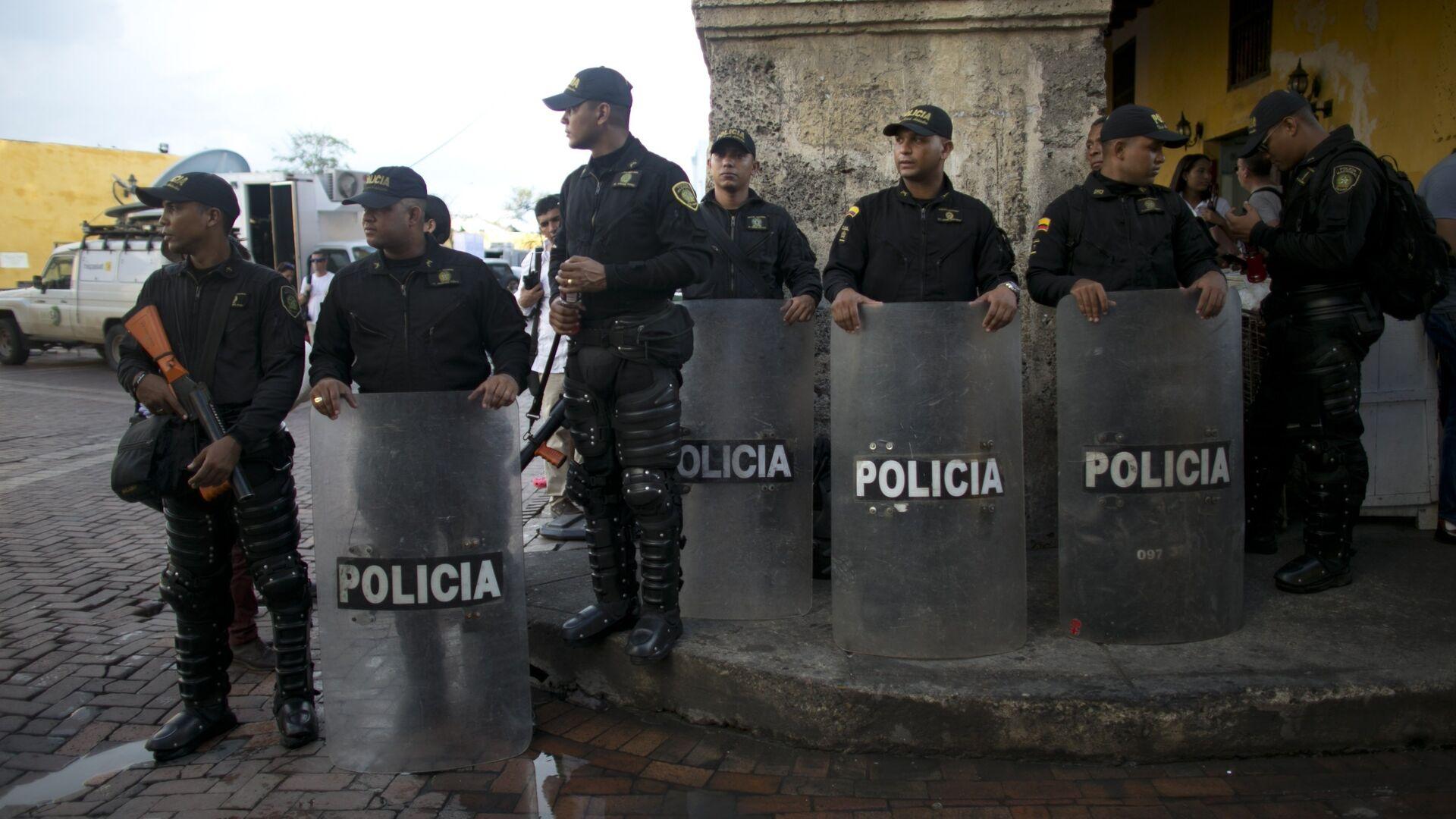Policía colombiana - Sputnik Mundo, 1920, 08.08.2021