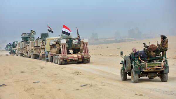 Las fuerzas iraquíes cerca de Mosul - Sputnik Mundo