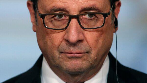 Francois Hollande, presidente de Francia - Sputnik Mundo