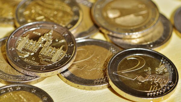 Monedas de dos euros - Sputnik Mundo